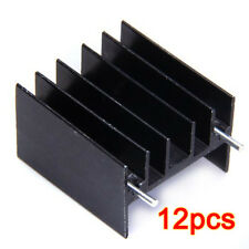 12pcs Aluminum Heat Sink for TO220 L298N