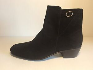 Booties Man Art. 301 Varese Leather Suede Black Bottom Leather Made IN Italy