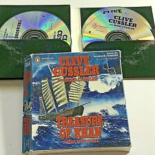 5 Cds Abridged Audio Book Clive Cussler Treasure of Khan A Dirk Pitt Novel 6 Hrs