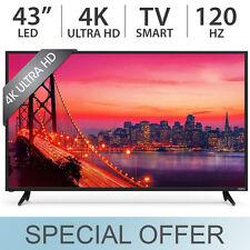 "VIZIO 43"" Smart 4K UHD 2160p 120Hz LED ULTRA HD TV w/ 4 HDMI E43U-D2 - NEW!!!"