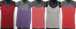 Clothing Lot 5 Womens Large Tank Tops Red Purple Beige Coral Old Navy Forever 21