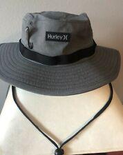 Hurley Size L/XL Phantom Vagabond Elite Boonie Hat Adjustable Straps CJ6853 Gray