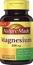 Nature Made - Magnesium 250 mg 200 Tablets