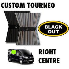 Black Out-tránsito Custom Ford Cortina Kit-Derecho Centro Cortinas