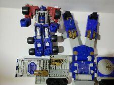 2002 Hasbro Transformers Armada Super Base Optimus Prime Figure Incomplete