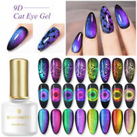 BORN PRETTY 6ml 9D Cat Eye Magnetic UV Gel Nail Polish Soak Off Nail Varnish Tip