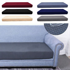 1-4 Seats Sofa Seat Cushion Cover Stretchy Waterproof Couch Slipcovers Protector