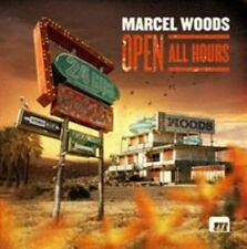 MARCEL WOODS - OPEN ALL HOURS NEW CD