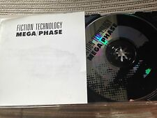 FICTION TECHNOLOGY - MEGA/PHASE CD SINGLE - EP 5 TRACKS GERMAN SYNTH POP MINIMAL