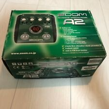 Zoom A2 Multi-Effects Guitar Effect Pedal w/ Manual BOX Very Good FS