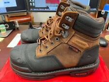 Wolverine Yukon Waterproof Safety Toe Work Boot Size 9.5 Ew