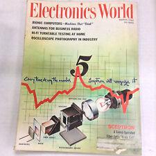 Electronics World Magazine Bionic Computers March 1963 052317nonrh