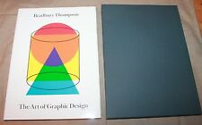UNBLEMISHED FIRST EDITION The Art of Graphic Design by Bradbury Thompson wow