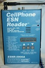 VINTAGE CELLPHONE ESN READER CURTIS ELECTRO DEVICES ESNR-5900A