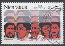Nicaragua Briefmarke gestempelt Escobar Navarro Ubeda Pomares Ruiz  / 172