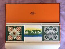 Hermes Eau D'orange Verte UN Jardin En Mediterranee Gentiane Blanche Soaps Set 3