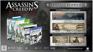 Ubisoft Assassin's Creed IV: Black Flag - Special Edition, PS4 Base+DLC ITA Play