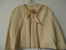 Vintage Quilted Bed Jacket Size 4 - 6