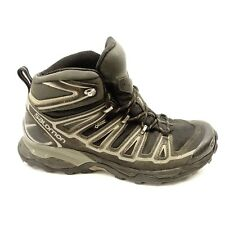 Mens Salomon X Ultra Mid 2 GTX Black Athletic Support Hiking Mid Boots Sz 8.5
