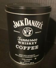Jack Daniels Tennessee Whiskey Coffee Tin Empty No Coffee Just Tin