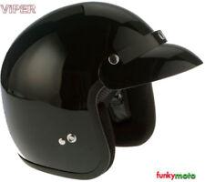 Viper Plain Motorcycle Helmets