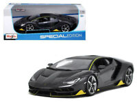 Lamborghini Centenario Dark Gray 1/18 Diecast Model Car by Maisto