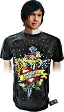 Shiroi Neko T shirt  Minute Mirth Tattoo Punk Goth Emo BNWT