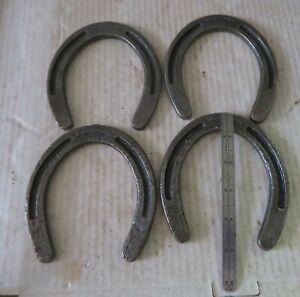 "4 Horseshoes Decorative Breckenridge USA Cast Iron 5"" Inches"