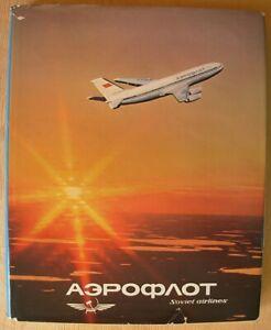 Russian photo album Aeroflot Soviet airlines USSR Liner aircraft airplane