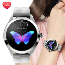 Women Girls Fashion Smart Bracelet Bluetooth Smart Watch Phone for Samsung iOS