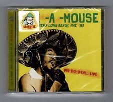 CD : EEK A MOUSE-wa do dem live    roots reggae    (new & sealed)