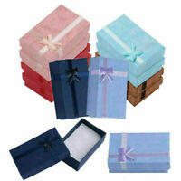 Necklace Bracelet Ring Set Small Jewelry Gift boxes Bag best Gift Gif V8D4