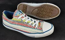 Retro CONVERSE ALL STAR Rare Wool Blanket Low Top Shoes Sneakers Womens 5 Mens 7