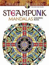 Adult Coloring: Creative Haven Steampunk Mandalas Coloring Book by Marty...