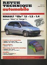 (9B)REVUE TECHNIQUE AUTOMOBILE RENAULT CLIO / LANCIA Y10/ RENAULT 25