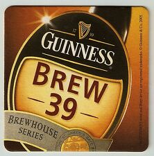 16 Guinness Brew 39  Brewhouse Series  Beer Coasters