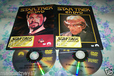 BOITIER FIN 2 DVD 6 EPISODES 264 MNS STAR TREK SERIE TV