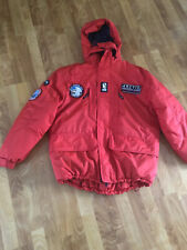 Poseidon Expedition Red Warm Parka Jacket XL Coat Arctic Cruise Polyamide Sea