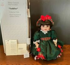 """Marie Osmond Doll 24"""" Baby Olive May Christmas Toddler COA Necklace IOB"""