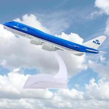 16cm B747 KLM Planes Model Diecast Aircraft Models Airlines Kids Toys Adult Gift