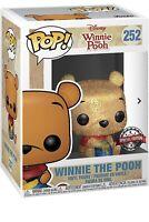 Funko Pop 252 Winnie The Pooh (Diamond Collection) BNIB Rare Free P&P