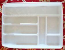 Rubbermaid Drawer Organizer 7 compartments oversized Single tier L3-2924-P0-Wht