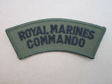 Royal Marines Commando Royal Navy (Style 2) Military Cloth Patch Badge