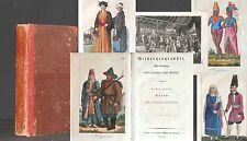 Bildergeographie: ASIEN 1810 Kolorierte Kupferstiche TOP Reise China