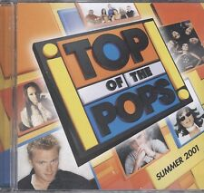 Top of the Pops Summer 2001 2cd like new
