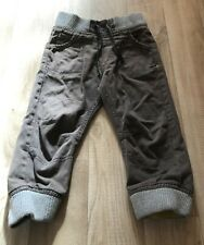 Boys Grey Cuffed Trousers Size 18-24 Months