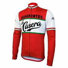 Thermal Fleece / Polyester LA CASERA BAHAMONTES  cycling jersey Long sleeve