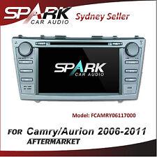 "7"" SP GPS DVD SAT NAV IPOD BLUETOOTH USB RADIO FOR TOYOTA CAMRY AURION 2006-2011"