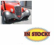 Wardlow Kustom BRA33F - 1933-34 Ford Black Fender Bra
