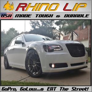 Chrysler Dodge Ram Viper Universal Front Rubber Lip Splitter Chin Spoiler Trim *